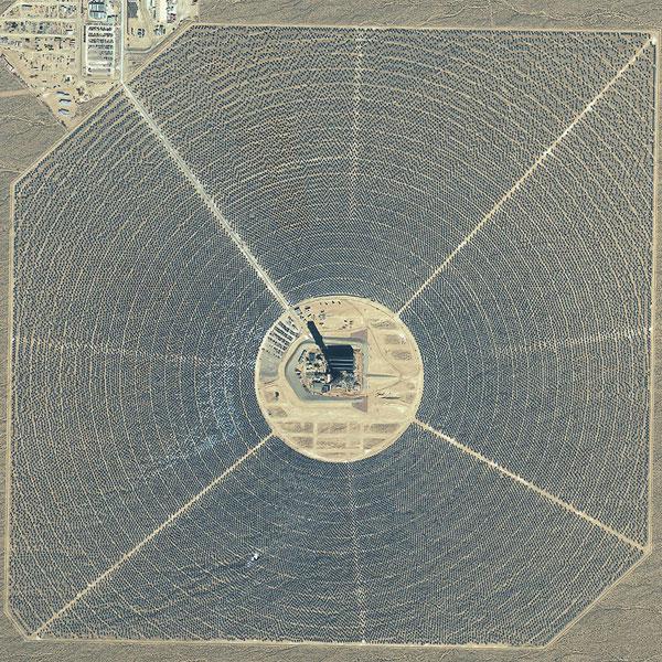 солнечная энергия, электростанция, Запуск крупнейшей в мире солнечной электростанции