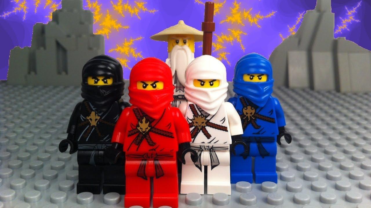 Жестокая битва ниндзя Lego