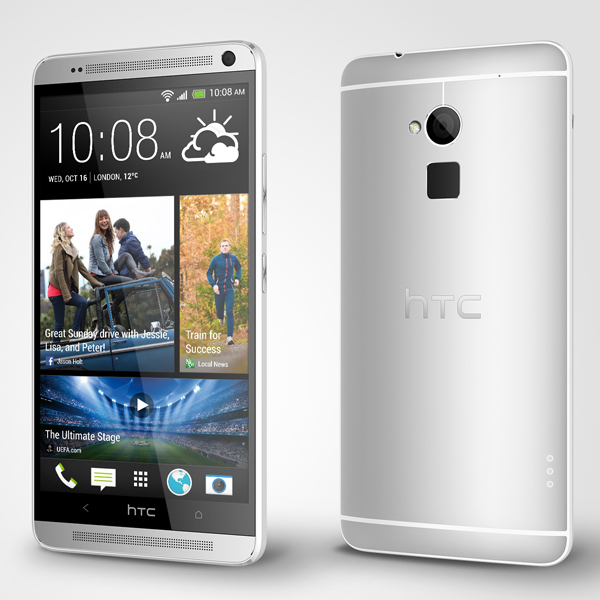 HTC, HTC One Max, фаблет, сканер, HTC One Max - достаточно одного касания