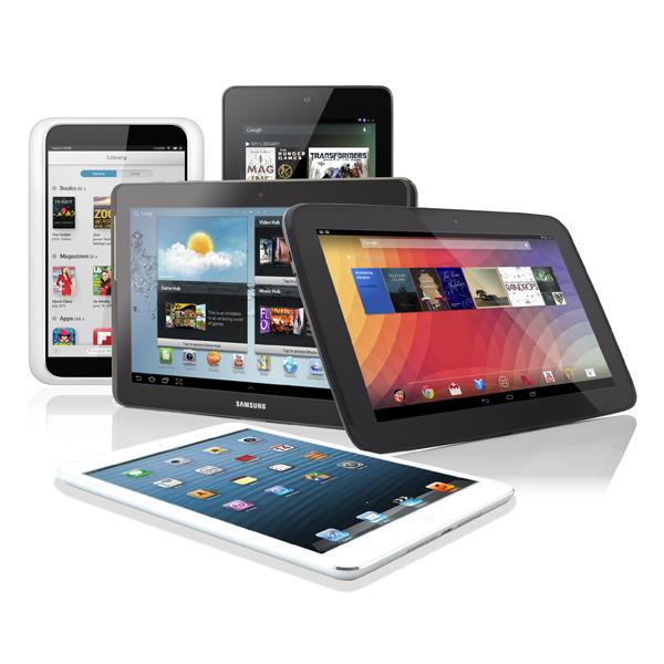 iPad, iPad mini, Google Nexus 7, Xperia Tablet Z, Kindle Fire HDX, Tesco Hudl, MyTablet, планшет, Какой планшетный компьютер выбрать?