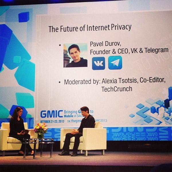 Павел Дуров, Вконтакте, Telegram, соц. сети, GMIC, Павел Дуров о  Facebook, Telegram и работе спецслужб