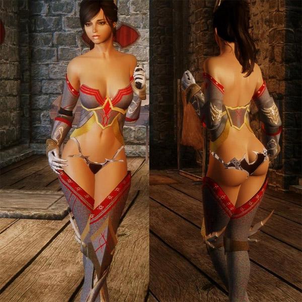 броня, девушки, RPG, Компьютерные игры могут сделать женщин более развратными