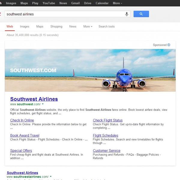 Google,реклама, Google тестирует большие баннеры на странице выдачи