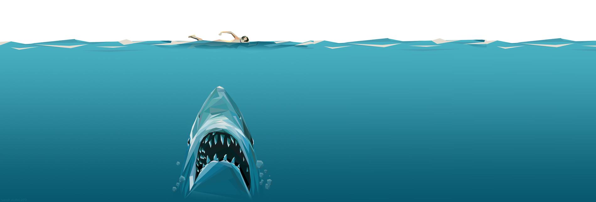 пловец иллюстрация