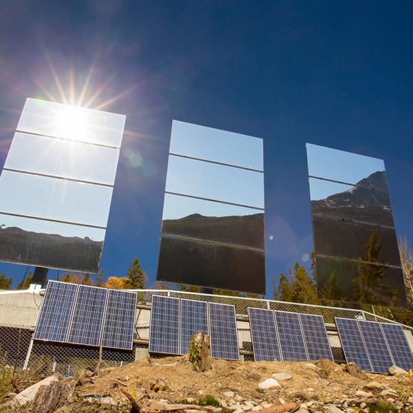 Панель солнечная энергия гигантские