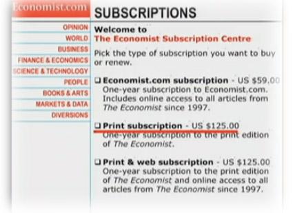 подписка на The Economist