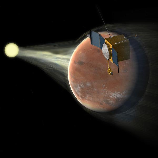 NASA, Марс, NASA хочет знать, почему Марс потерял атмосферу