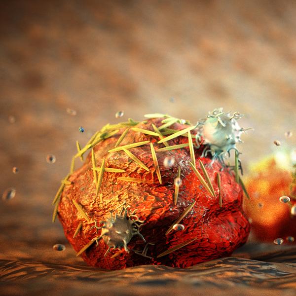 наночастица, диагностика, Наночастица, доставляющая лекарства от рака
