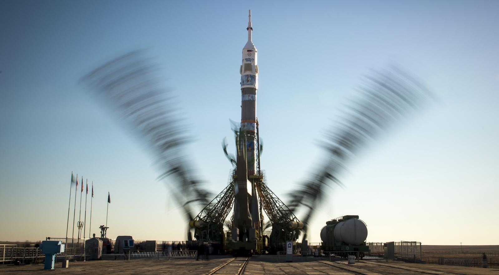 Олимпийский факел впервые побывал в открытом космосе
