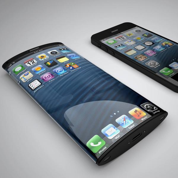 Apple, iPhone, Apple разрабатывает телефон с изогнутым дисплеем