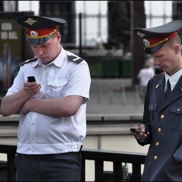 Полиция, планшеты, Технический прогресс на службе московской полиции