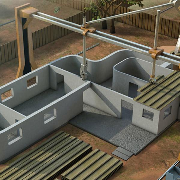 3D-печать, Профессор из Южной Калифорнии планирует возводить дома с помощью 3D-принтера