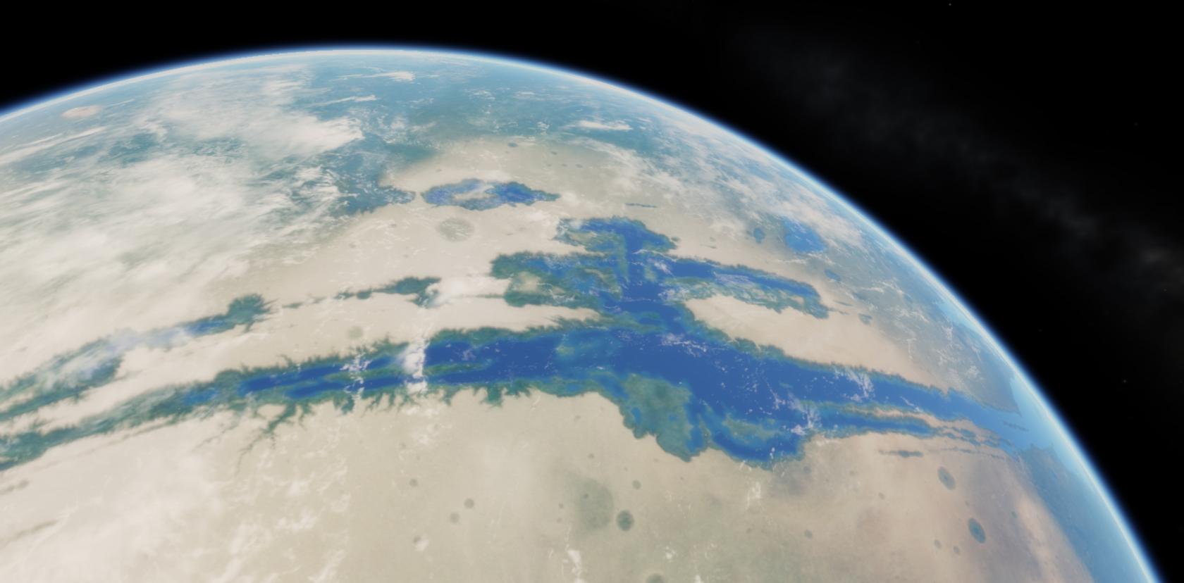 Как выглядел Марс 4 миллиарда лет назад