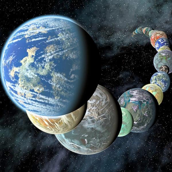 Kepler-22b, экзопланета, суперземля, Новые теоретические модели помогут в поиске планет, подобных Земле