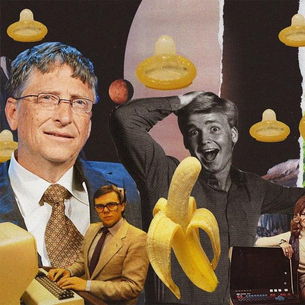 графен, Билл Гейтс, презерватив, медицина, секс, Презервативы будут делать из графена
