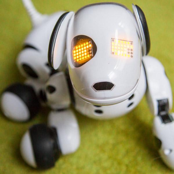 робот, игрушка, Zoomer, Роботизированная собака Zoomer