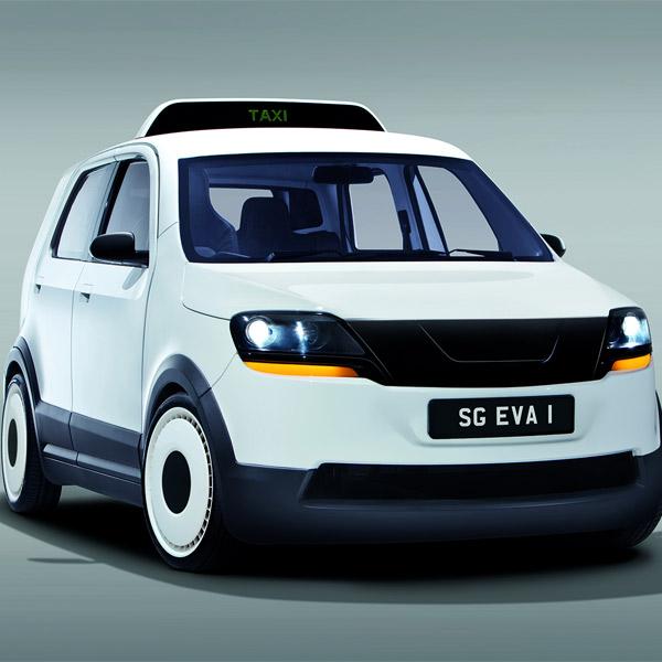 транспорт,электромобиль, EVA: 15 минут заряжается, 200 километров едет