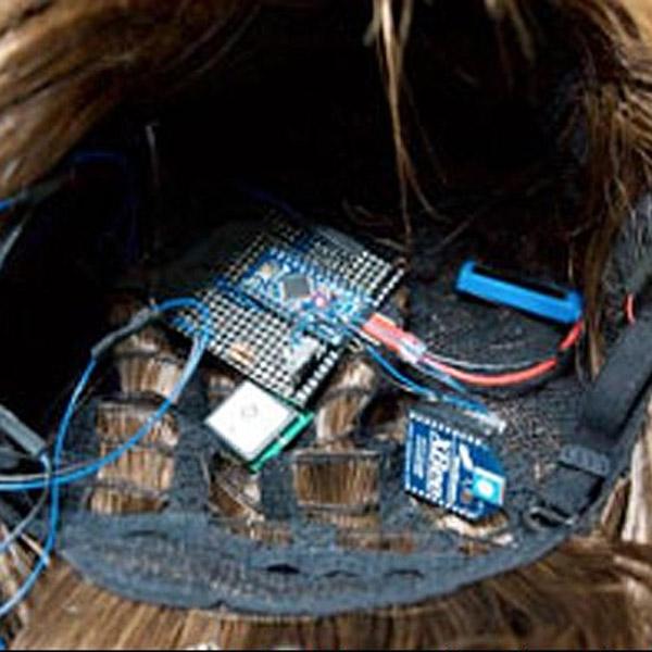 Sony, SmartWig, Sony запатентовала «парик-навигатор»
