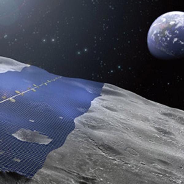 Луна, концепт, luna ring, Японцы представили концепт фабрики по сбору солнечной энергии на Луне
