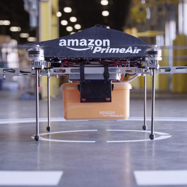 Amazon,дроны, Amazon будет использовать беспилотники в качестве курьеров