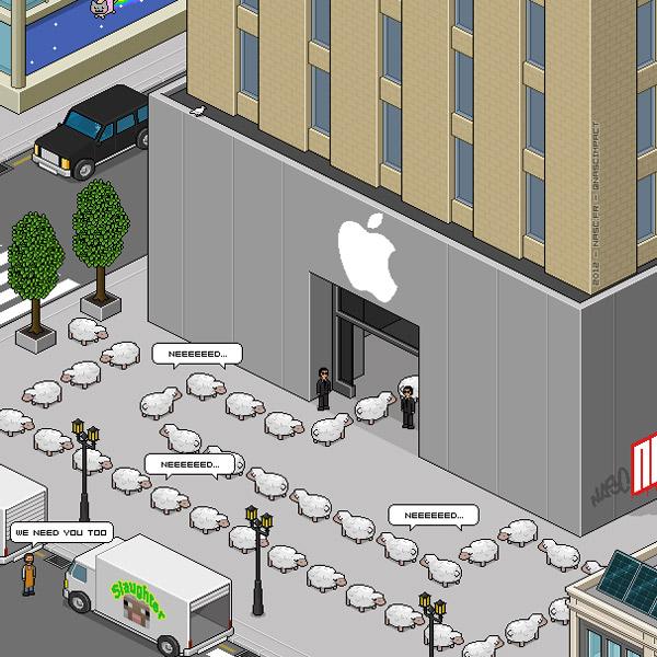 Apple, трудоустройство, Первый розничный магазин «Apple» может открыться в ближайшем будущем в Москве