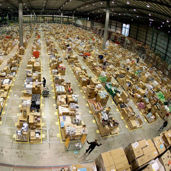 Amazon,производство, Мастерская Деда Мороза XXI века: как Amazon готовился к Большому Понедельнику