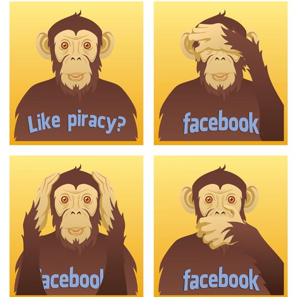 Facebook,пиратство, Facebook получила патент на «антипиратскую» технологию