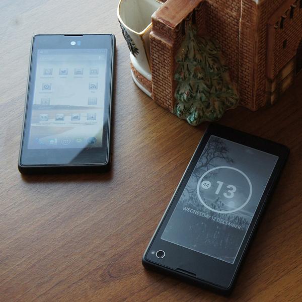 Yota,смартфоны, YotaPhone: два дисплея в одном корпусе