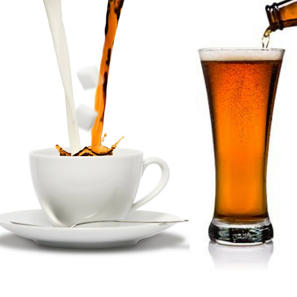 медицина, исследование, пиво, кофе, рак, Пиво и кофе способны изменять ДНК, но по-разному