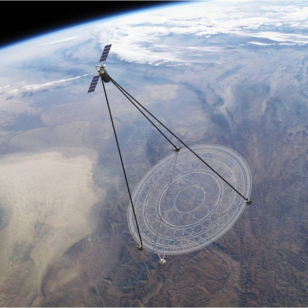 Pantech, DARPA создает гигантский складной космический телескоп из пластика