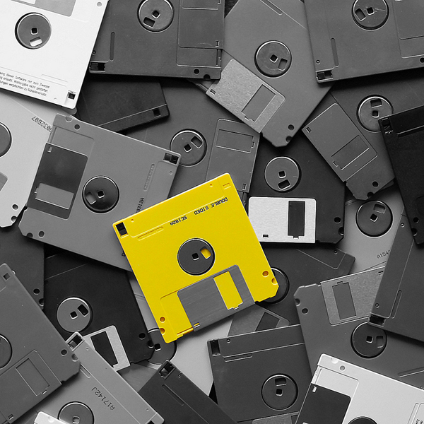 дискета,данные, Федеральное агентство до сих пор использует дискеты