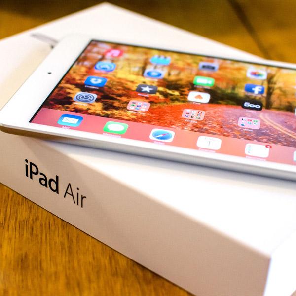 Apple,iPad,обзор, Воздуфикация планшетного рынка - новый iPad Air
