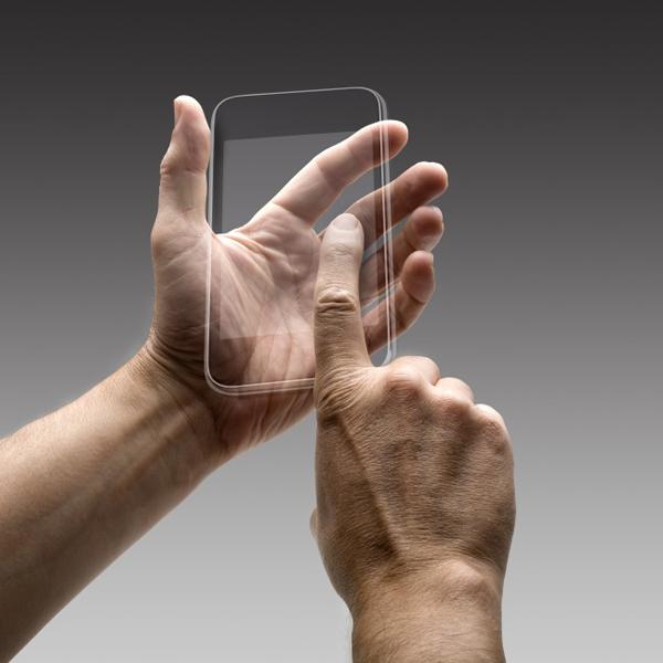 Samsung, патент, Революционный смартфон с прозрачным экраном от Samsung