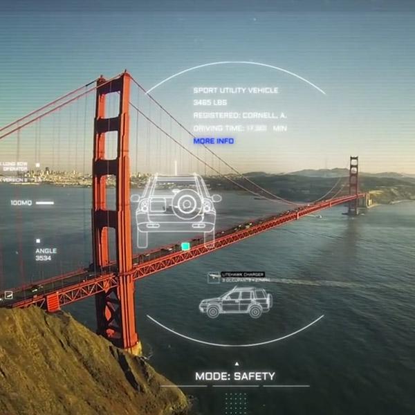 дроны, концепт, Дизайнер предложил взглянуть на мир глазами дрона