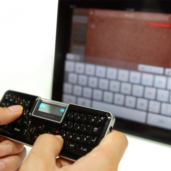 концепт,клавиатура,handsfree, Корейские разработчики продемонстрировали портативную Bluetooth клавиатуру