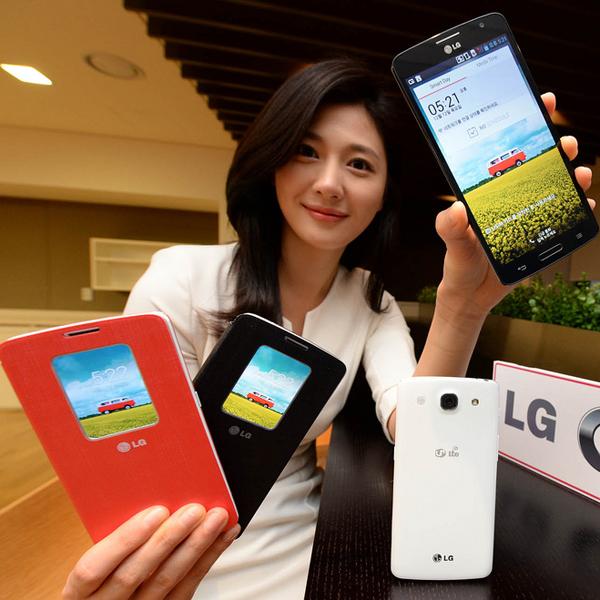 LG, LG выпускает в Корее смартфон GX
