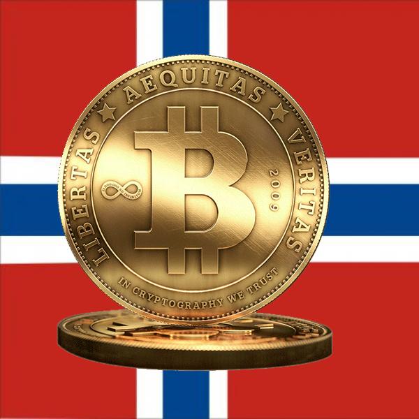 биткоин, законодательство, Норвегия не признает Биткоин деньгами