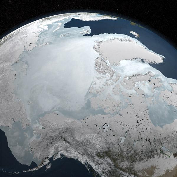 CryoSat,спутник,лед,Арктика, По данным спутника ЕКА, количество полярного льда увеличивается на 50% каждый год