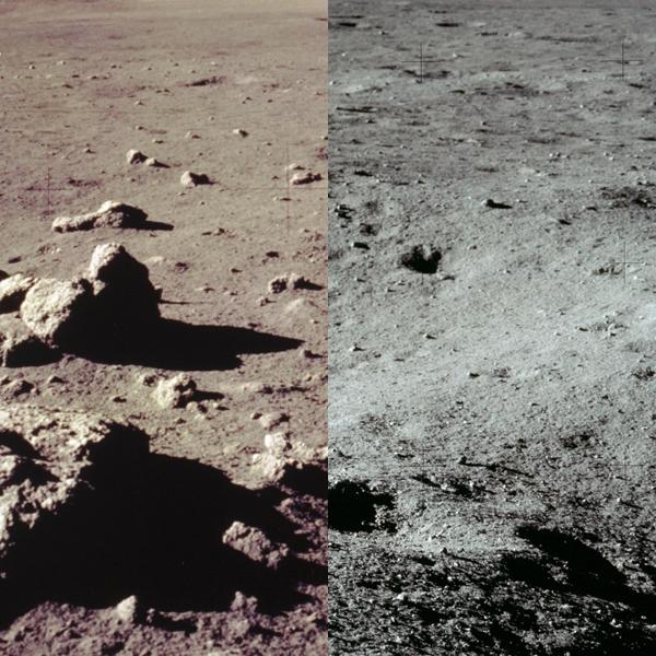 космос, Китай, нефритовый заяц, Какого цвета поверхность Луны на самом деле?