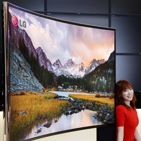 LG, 105-дюймовый изогнутый 4K-телевизор от LG будет представлен на CES 2014