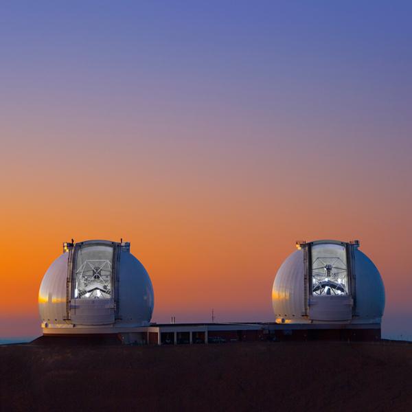 космос,телескоп,Гавайи, Потрясающее видео, раскрывающее всю красоту ночного неба на Гавайях