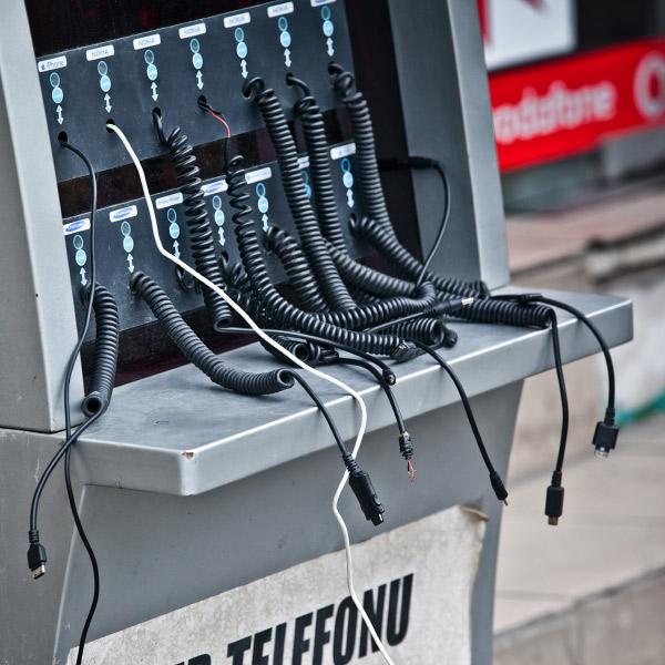 смартфоны, городская среда, В Санкт-Петербурге установят автоматы для зарядки мобильных телефонов