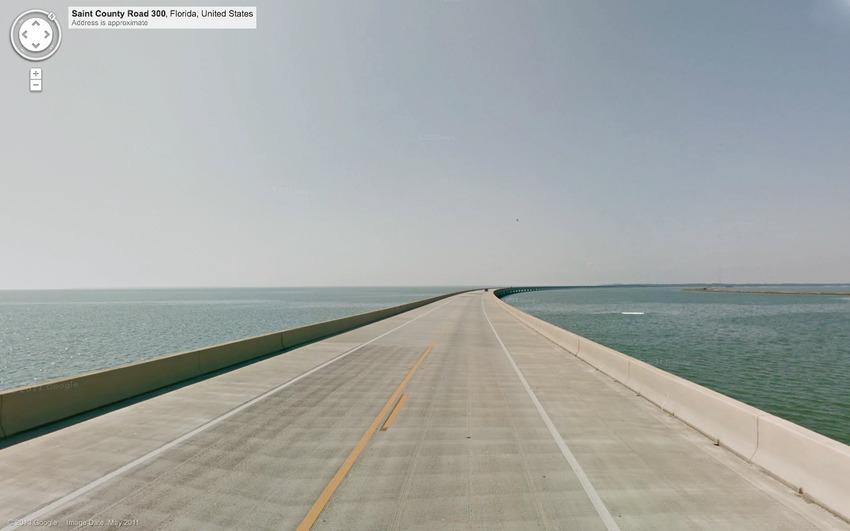 Мальовничі місця планети, знайдені на сторінках Google Street View