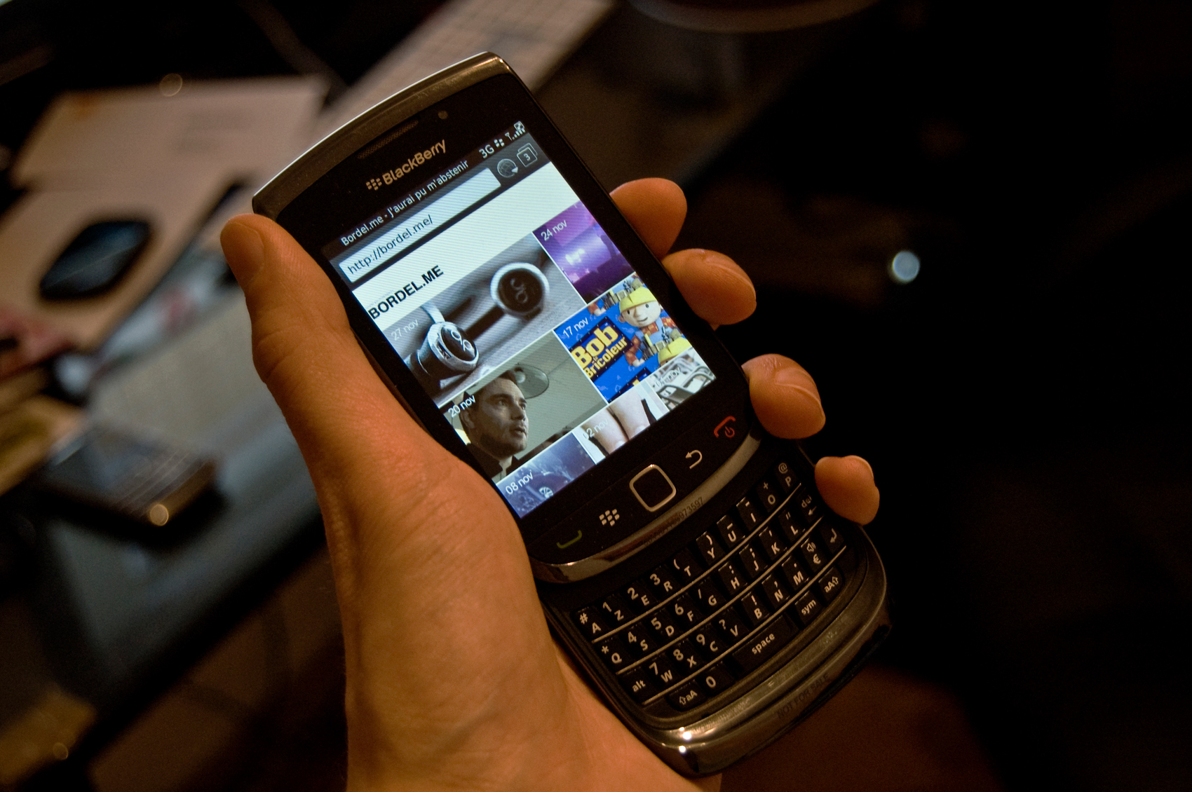 blackberry смартфон