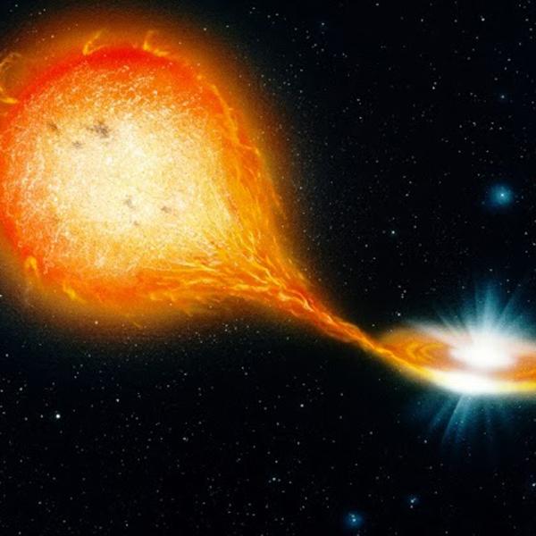 визуализация, экзопланета, GPI, Загадочная звезда хранит в своем ядре нейтронную звезду
