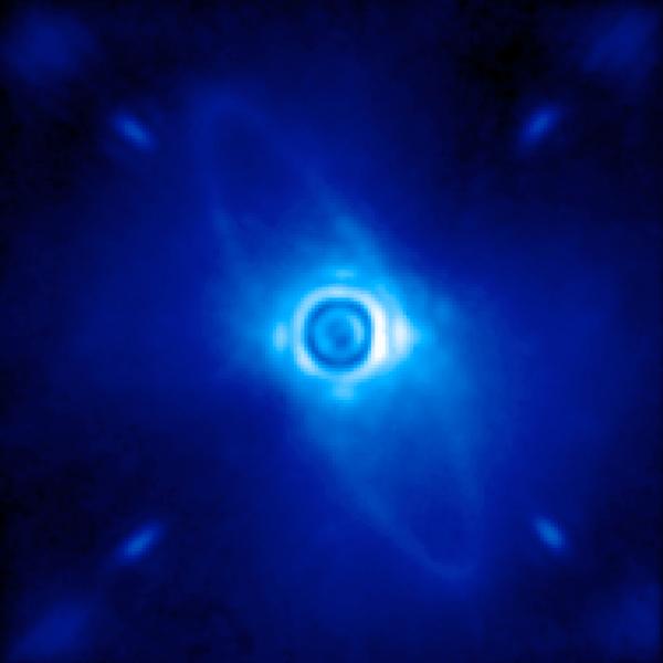 визуализация, экзопланета, GPI, Gemini Planet Imager показал первые фотографии далеких миров