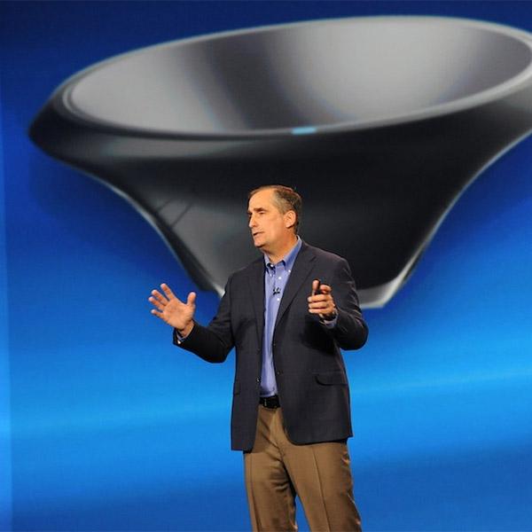 Intel, «Ваза» от Intel зарядит гаджеты без проводов