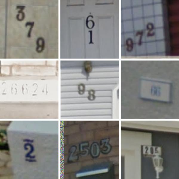 Google, распознавание образов, Как Google Street View распознает номера домов