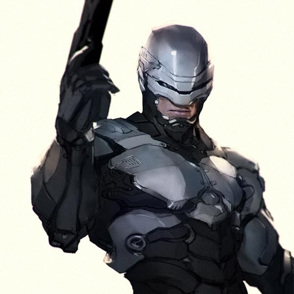 Robocop, Мем, CES-2027: на презентации из будущего представили робота-полицейского