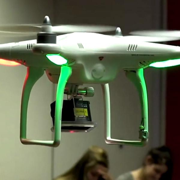 квадрокоптер, Квадрокоптеры будут выслеживать списывающих учащихся